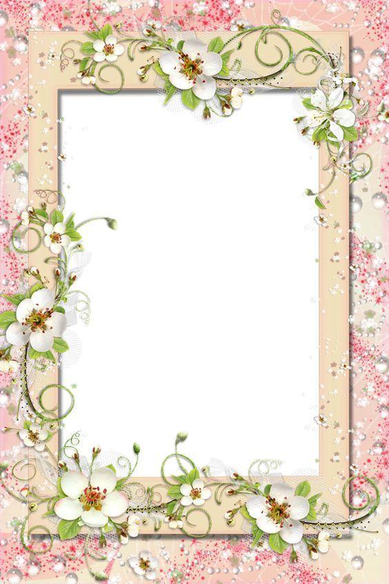 Frame Festa Della Mamma Happy Mother S Day Il Magico Mondo Dei Sogni Flower Frame Floral Border Frame