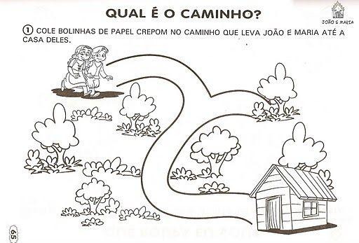 Historia Infantil Joao E Maria Com Imagens Para Imprimir Com