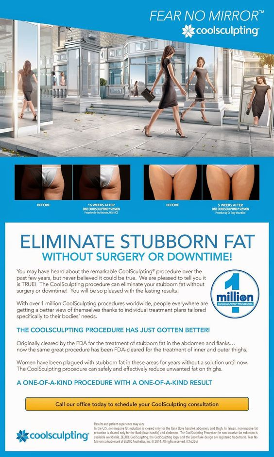 New Application for CoolSculpting... your THIGHS! Find out more on our blog.