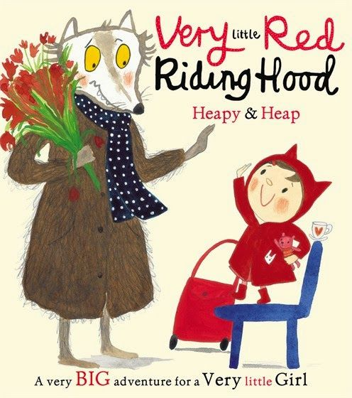 Nayu's Reading Corner: Very Little Red Riding Hood by Heapy and Heap (Children's, Picture book, 10E/10E)