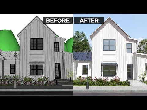 10 Tips For A Realistic Exterior Rendering Vray 3 6 For Sketchup