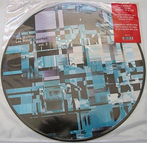Joy Division Les Bains Douches Vol. 2 Vinyl LP