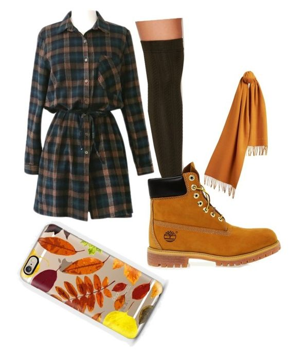 """I want fall back "" by balletdog on Polyvore featuring Capelli New York, Burberry, Timberland, Casetify, women's clothing, women's fashion, women, female, woman and misses"