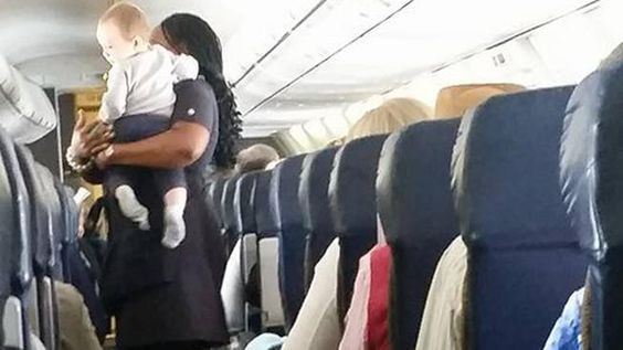 Mother's Facebook Note To Flight Attendant Who Took Care Of Her Baby Goes Viral