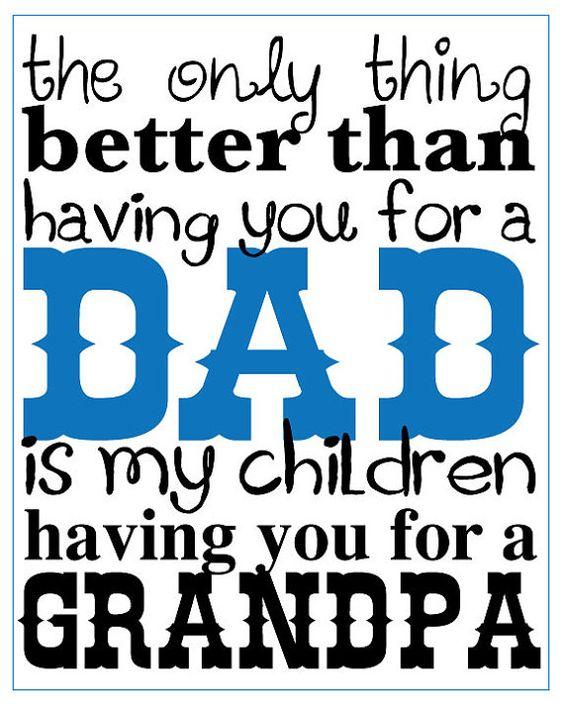 DIY printable Fathers Day sign