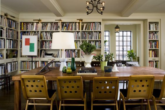 31 Transitional Library That Will Inspire You Futuristic Interior Designs Technology Interior Design Dining Room Chic Dining Room Home