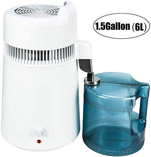 New Olizee 900w 6liter 1 5gallon Home Countertop Pure Water Distiller Water Purifier Bpa Free Container Online In 2020 Water Purifier Bpa Free Containers Pure Water