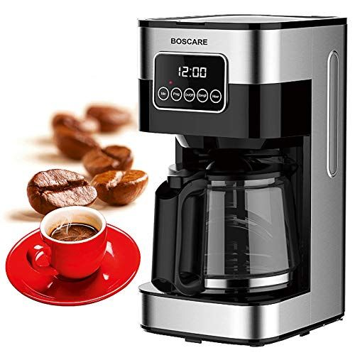 Boscare 10 Cups Programmable Coffee Maker Cm1429ta Keep Warm Drip Coffee Machine With Permanent Filt In 2020 Coffee Maker Coffee Machine Price Single Cup Coffee Maker
