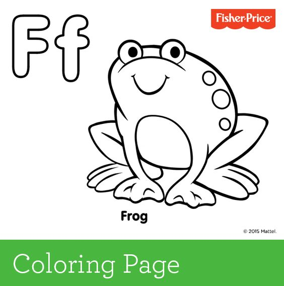 f is for frog a frog is an amphibian which means it can