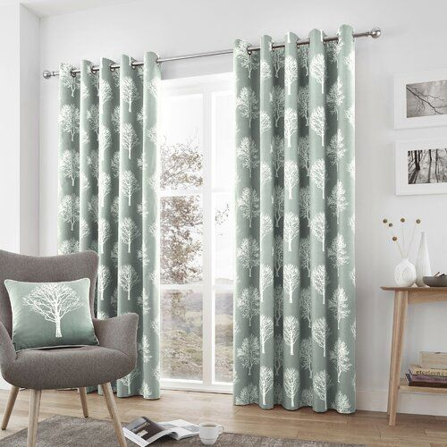 Coleg Mayall Eyelet Room Darkening Curtains Marlow Home Co Panel Size 229 W X 183 D Cm Colour Natur Home Decor Hooks Home Decor Home Decor Styles
