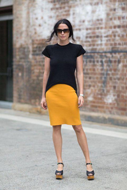 Street Style Australia Fashion Week Fall 2014 - Austrailian Fashion Week Fall Street Style