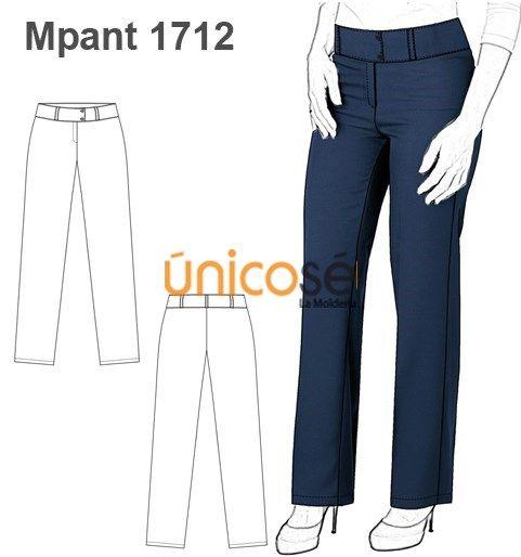 Moldes Unicose Pantalones De Vestir Mujer Patrones De Ropa Intima Moldes De Pantalones