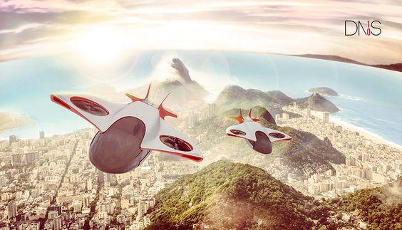 DNS10, scifi, helicopter, futuristic rescue