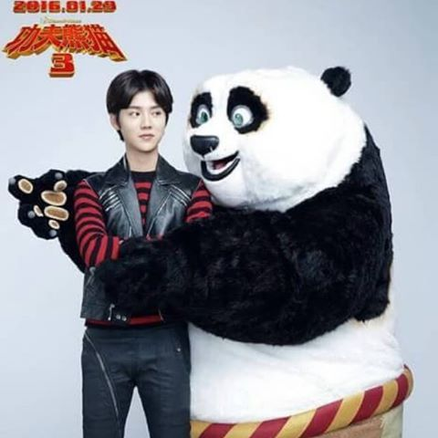 Luhan to sing ost for kung fu panda 3 koogle tv k pop - Singe kung fu panda ...