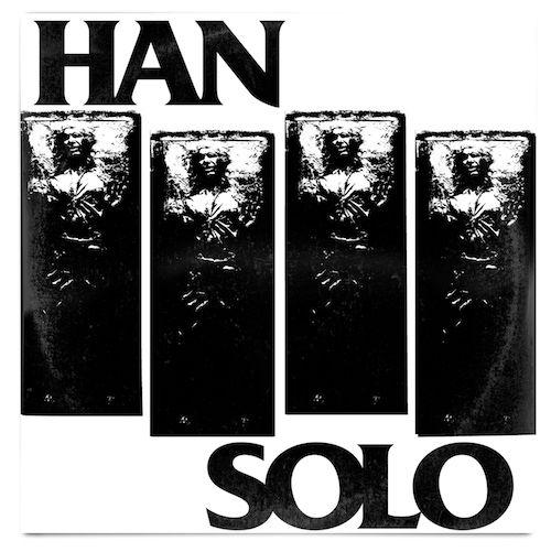 Black Flag Logo Star Wars Han Solo In Carbonite Mash Up Vinyl Record Art Print Blackflag Henryrol Vinyl Record Album Covers Star Wars Love Black Flag Logo