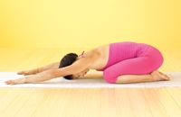 @Yoga Journal Balasana: More than a rest stop, Child's Pose requires you to surrender to gravity and a state of nondoing.