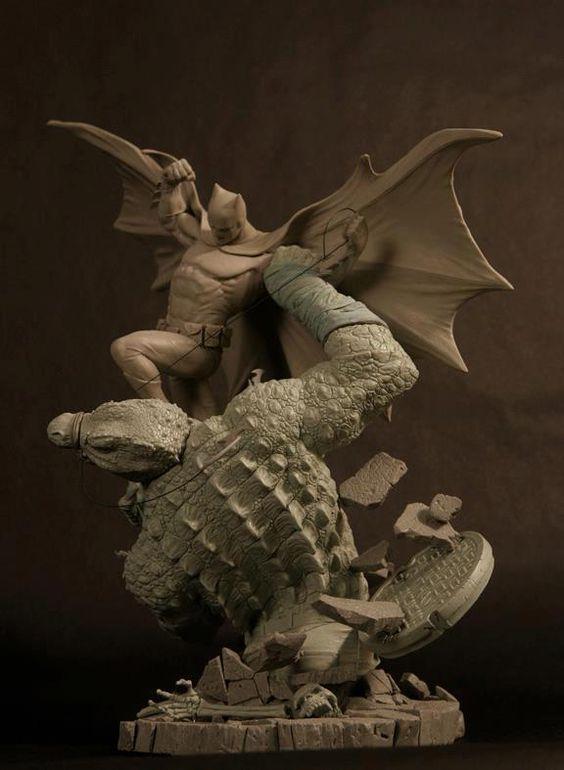 Amazing Batman sculpt.