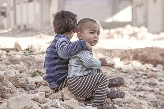After five years of conflict, Syrian children are growing up in the rubble of violence.