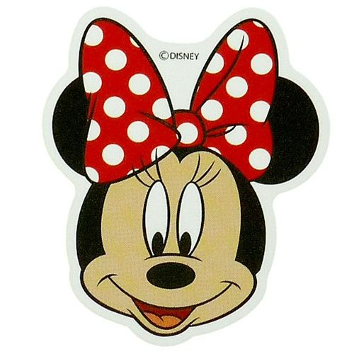 "Minnie Mouse Face | Minnie mouse ""face-up"" mini stickers ..."
