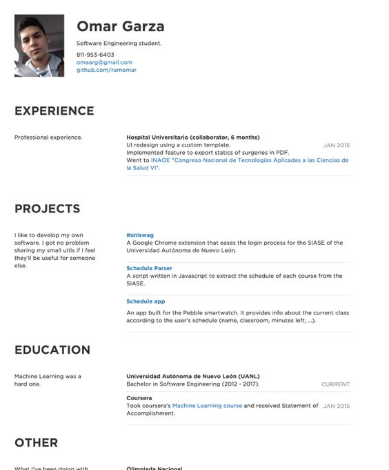 Nikki Vivianu0027s CakeResume #ResumeExample #ResumeTemplate #Resume - my perfect resume login