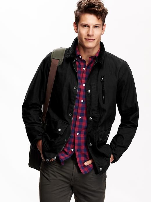 Canada Goose down online price - Men's Waxed-Canvas Jackets Product Image   Thing for Nicky to see ...