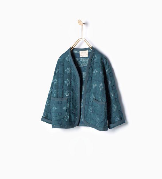 Kimono jacquard - Ver todo - Abrigos - Niña (4 - 14 años) - NIÑOS | ZARA Islas Canarias