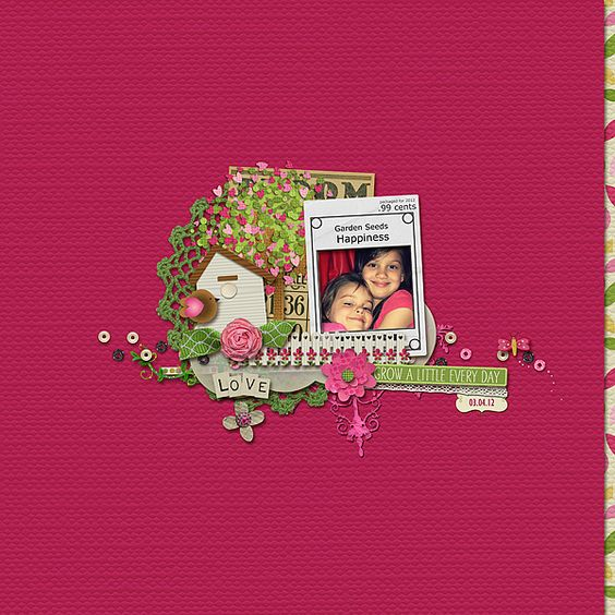 Page is created with  Full Bloom Collection by ForeverJoy Designs