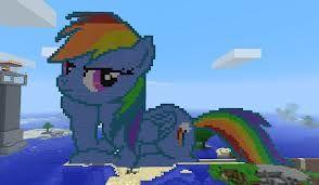 MINECRAFT, my little pony XD