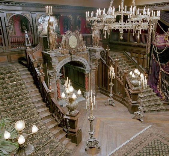 Foyer Grand Large Lorient : Pics for gt gothic mansion foyer