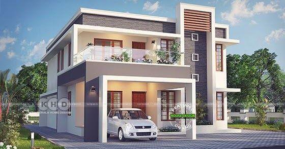 Excellent Contemporary Kerala Home Design 2631 Sq Ft Kerala House Design New Model House House Gate Design
