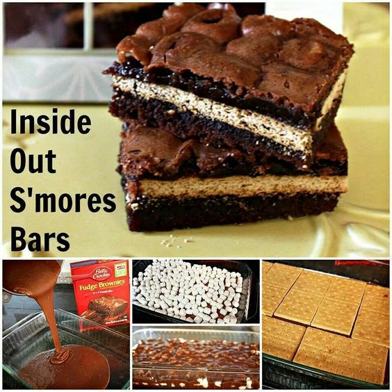 Wow! Inside out smores :)