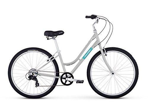 Raleigh Bikes Venture Step Thru Comfort Bike 15 Small Silver Comfort Bike Raleigh Bikes Bike