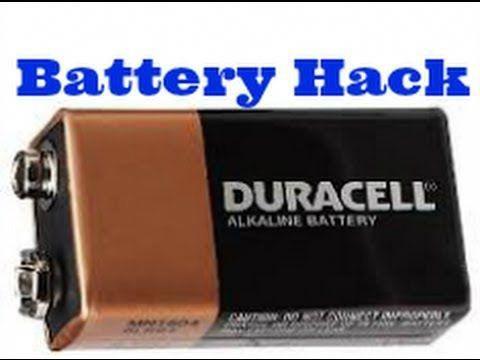 Surprising 9v Battery Hack Turn 9v Into 6 Aaa Batteries Youtube Battery Hacks 9 Volt Battery Car Battery Hacks
