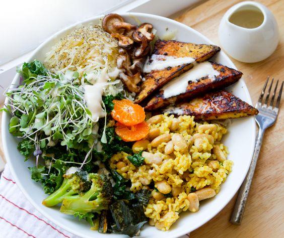 vegan macro meal