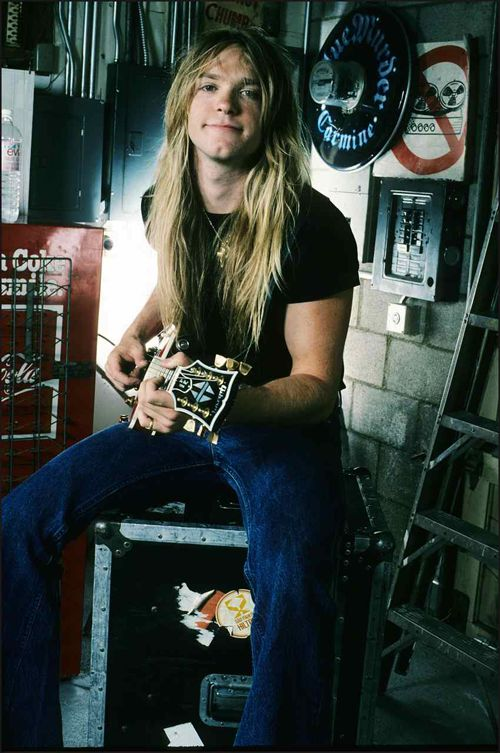 Zakk Wylde - 1988, age 21. RESEARCH DdO:) - qualified for MOST POPULAR RE-PINS board in 2 wks: http://www.pinterest.com/DianaDeeOsborne/music-strings-of-history/ - MUSIC STRINGS OF HISTORY. Born in New Jersey, USA as Jeffrey Philip Wielandt. American musician, songwriter plays many instruments incl electric guitar. Best known as former guitarist for Ozzy Osbourne, & founder of heavy metal band Black Label Society. Known for skills as shredder, a Les Paul model from Gibson Custom has his…