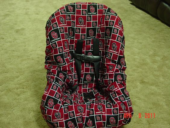 OU  toddler car seat cover by littlestitches59 on Etsy, $38.00