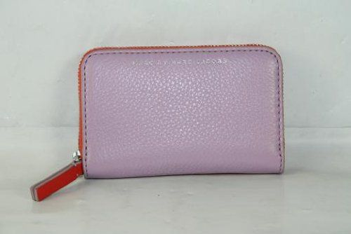 Marc Jacobs Sophisticato Zip Card Case in Pastel Purple Multi - http://bags.bloggor.org/marc-jacobs-sophisticato-zip-card-case-in-pastel-purple-multi/