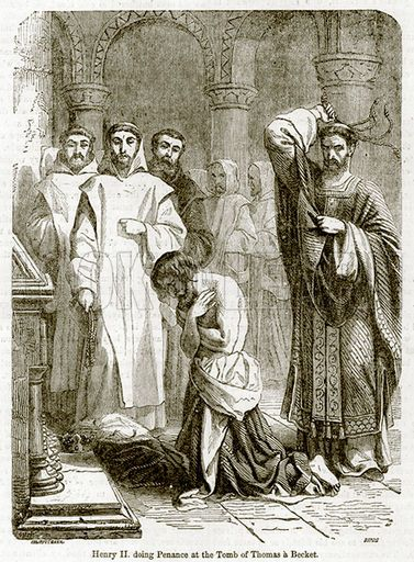 king henry ii and thomas becket Henry ii: henry ii, duke of  gave shelter and comfort to henry's enemy, thomas becket,  as king of france henry was defeated and forced to give way,.