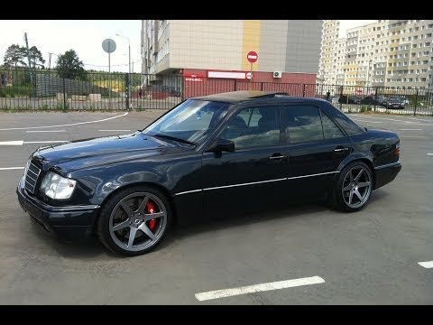 Tyuning Mersedes W124 Tuning Mercedes Benz W124 22 Youtube In