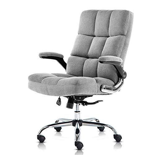 Sp Velvet Office Chair Adjustable Tilt Angle And Flip Up Https Www Amazon Com Dp B07qtxw2v3 Ref Cm Sw R Pi Luxury Office Chairs Velvet Office Chair Chair Office chair with flip up arms