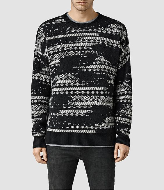 AllSaints Gifts for Him: Eskar Crew Jumper