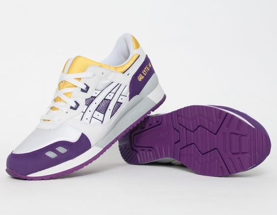 asics gel lyte iii lakers news