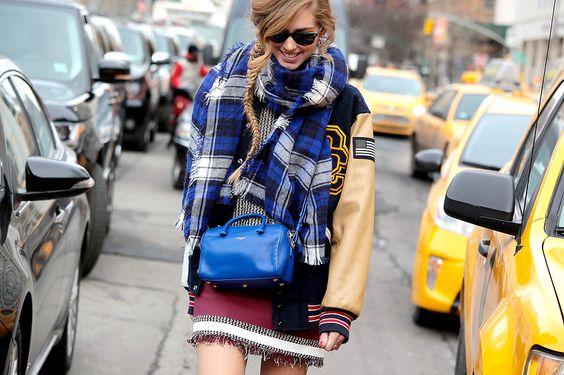 @Isabelle Chiara Ferragni New York Fashion Week - Fall/Winter 2014-15 #nyfw #fashionweek #Streetstyle #nyfw2014 #nyfw14