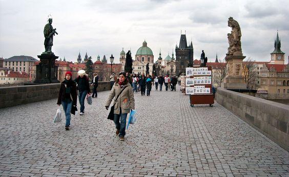 Praga, Puente de Carlos. Foto de Isabel Pascual