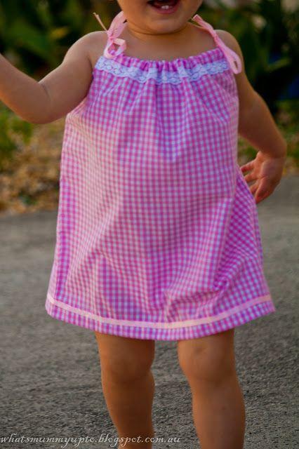 Qual è la mamma fino a ...: (! Kinda) La mia versione di una federa camicia da notte ... corrispondenza di Hannah (ma anche no) PJ