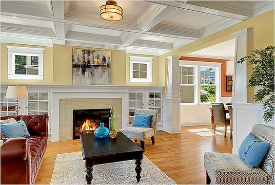 Craftsman Bungalow Interiors   Craftsman Style, Indoors and Out   Riverbend Home Blog