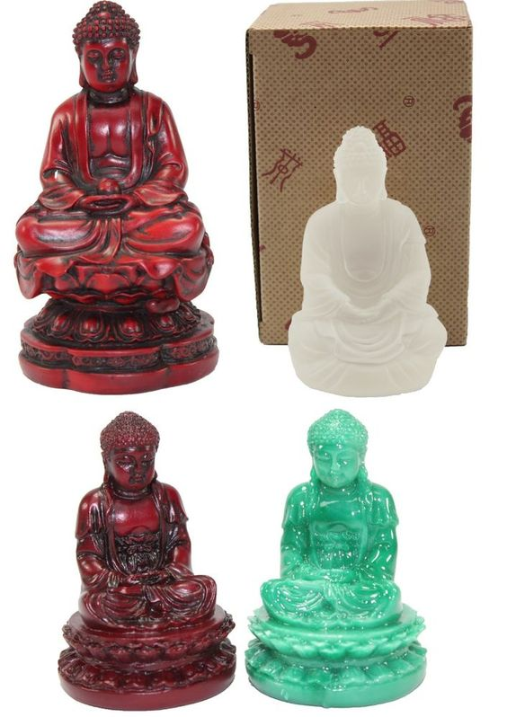 Details About Feng Shui Meditating Buddha Statues Fortune
