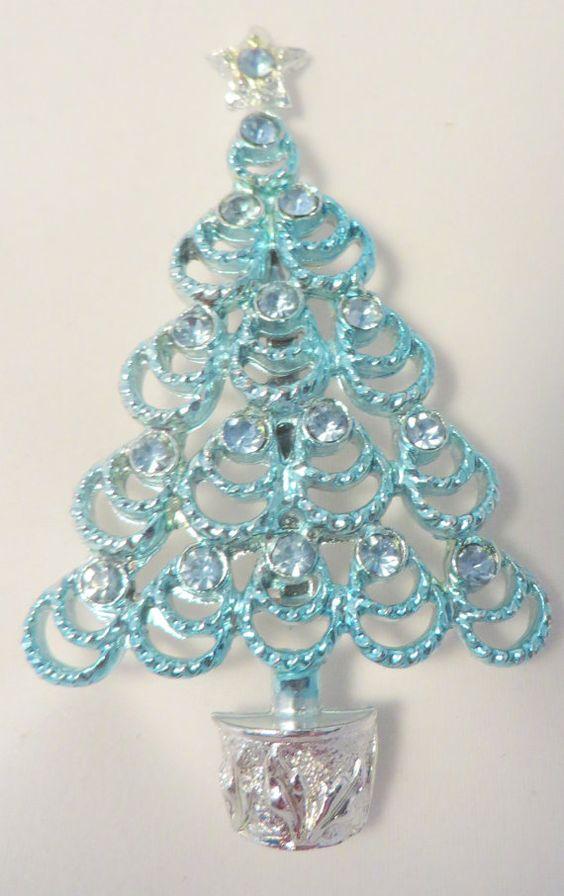 Powder Blue Vintage B.J. Beatrix Jewelry by PECollectibles on Etsy