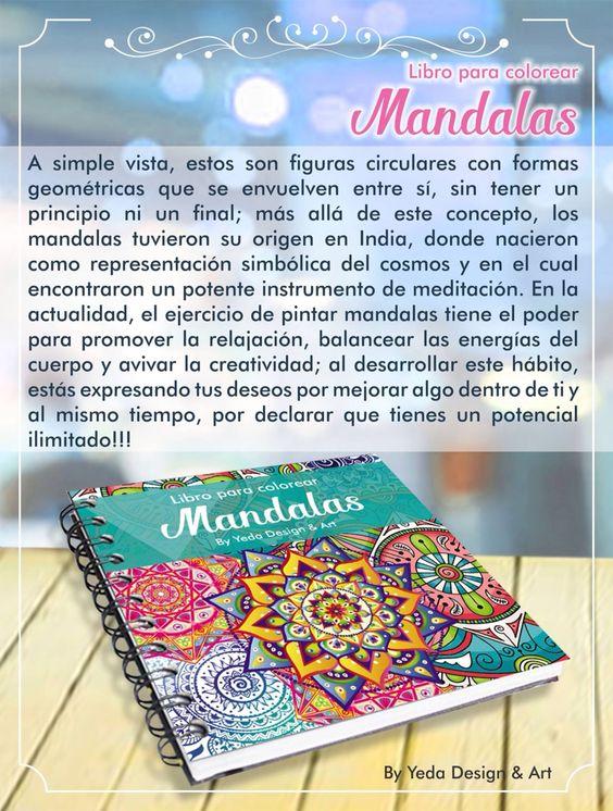 Libros de mandala envíos a todo Colombia whatsapp 3167430987 Facebook yeda Design & art