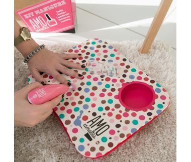 Bandeja manicure - amo esmaltes